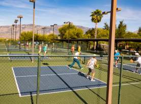 Our Pickleball club is very popular