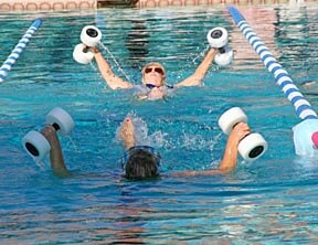 Aquatic classes in Oro Valley, for weight loss, exercise and community