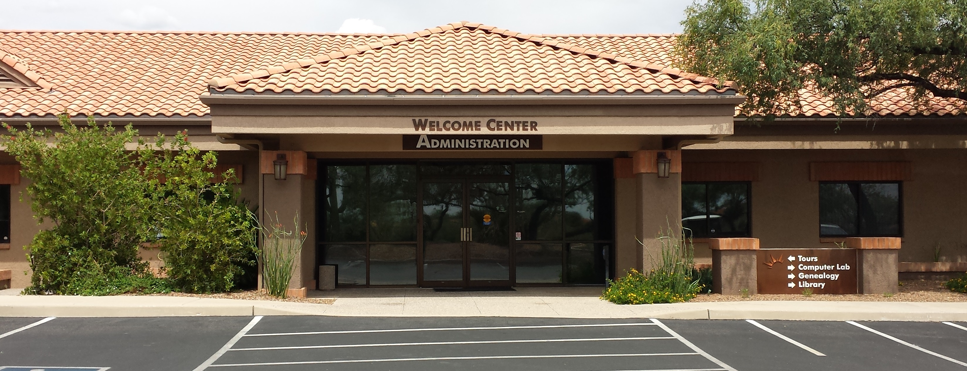 Welcome/Administration Center