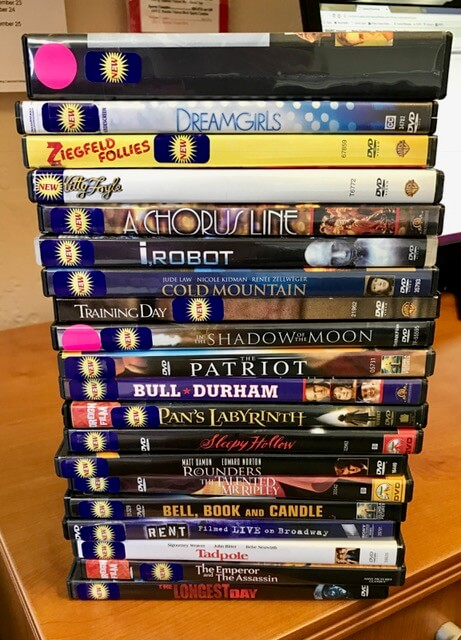 Old movies new to our shelves