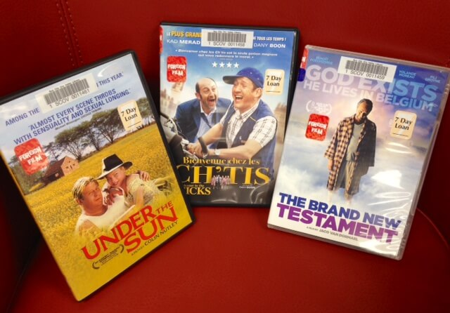 New foreign films at the SCOV Library