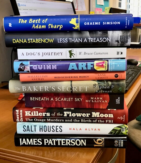 You can't have enough new books, right?