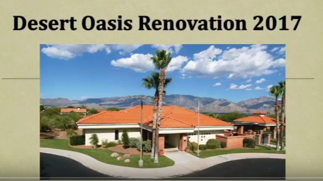 Desert Oasis Renovation Now On YouTube