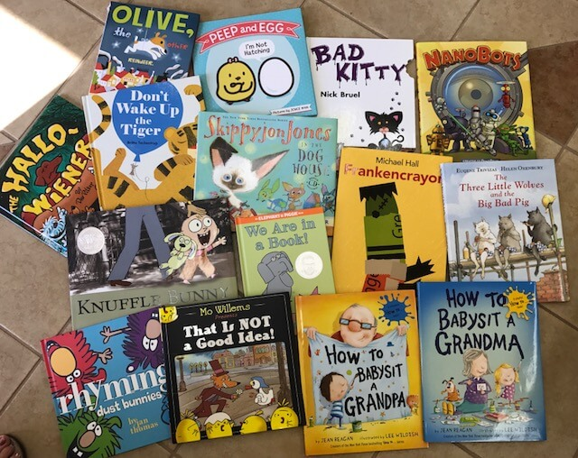 Grand new books for grandchildren