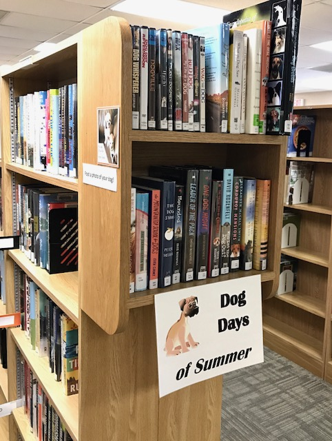 Dog Days of Summer at the SCOV Library through August 31, 2018