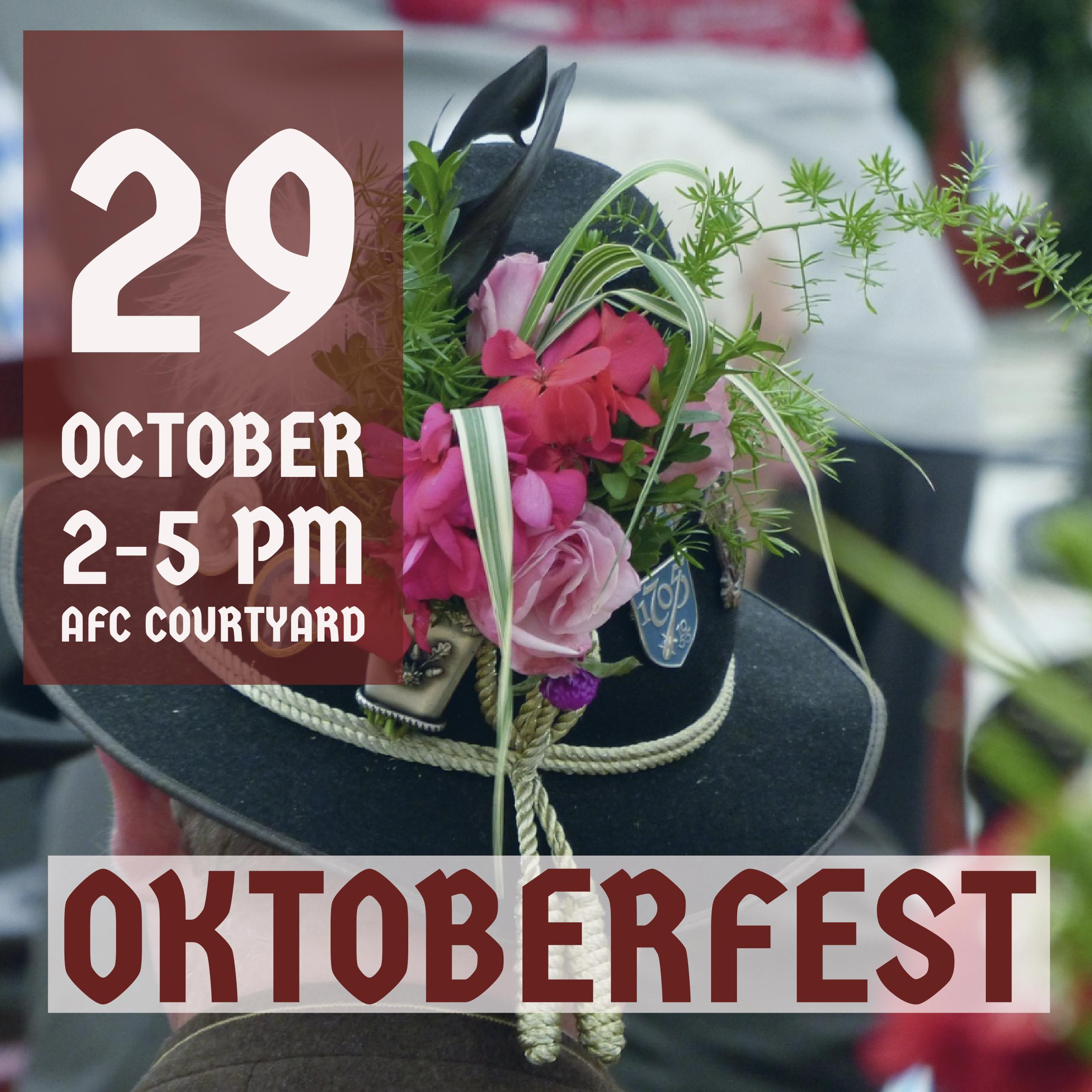 Oktoberfest – Sunday, October 29