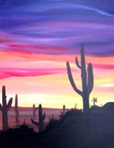 Paint Nite Tuesday, Oct 3 @ 6 PM
