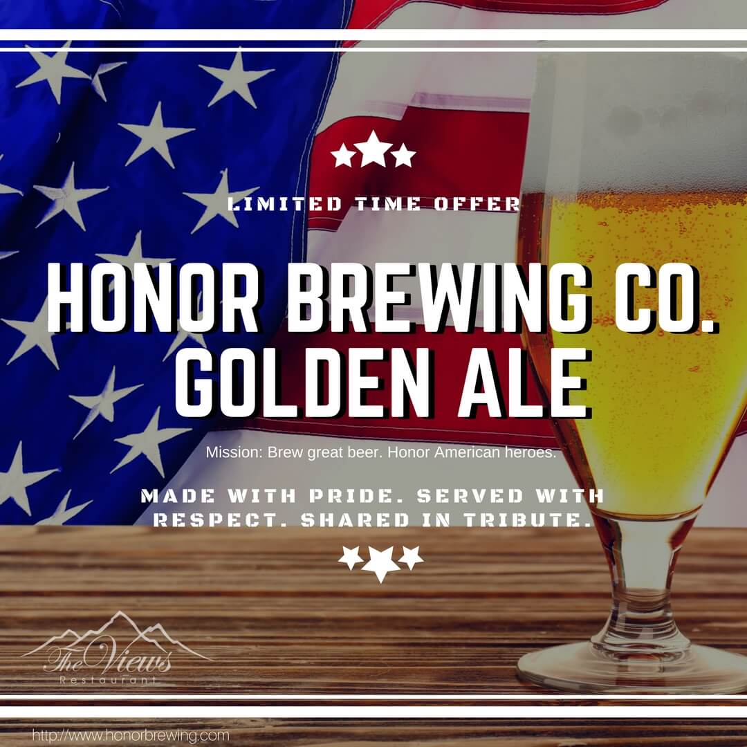 Honor Beer at The Views Restaurant