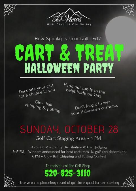 Cart & Treat, Sun Oct 28 – Register Today!