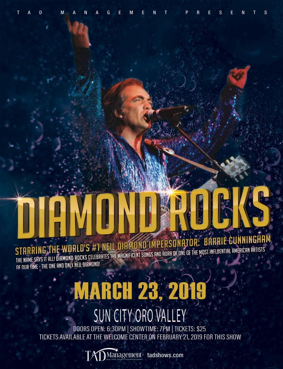 Diamond Rocks – 3/23