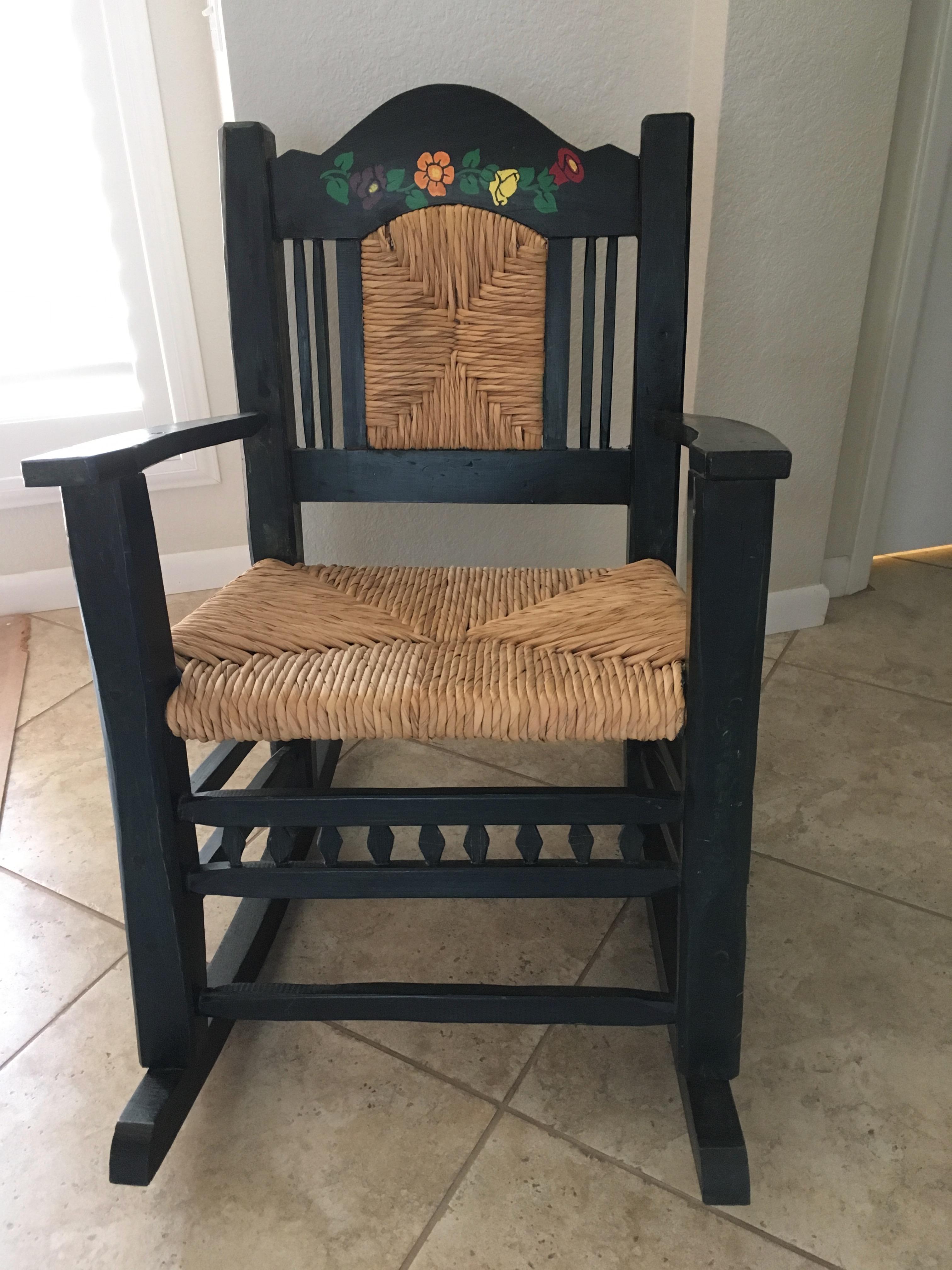 Folk Art Rocking Chair