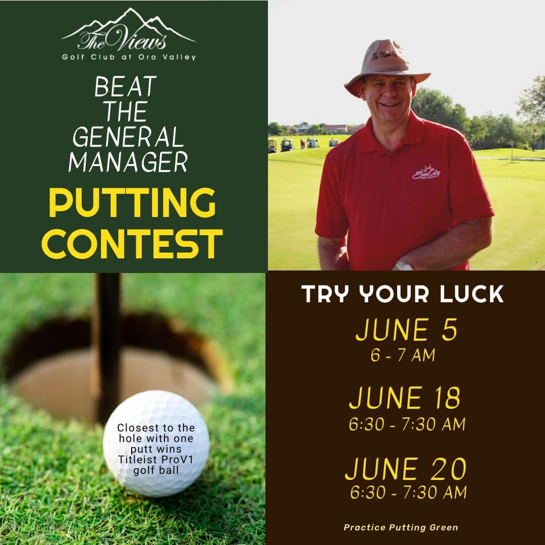 Beat the GM Putting Contest – 6/18 & 6/20