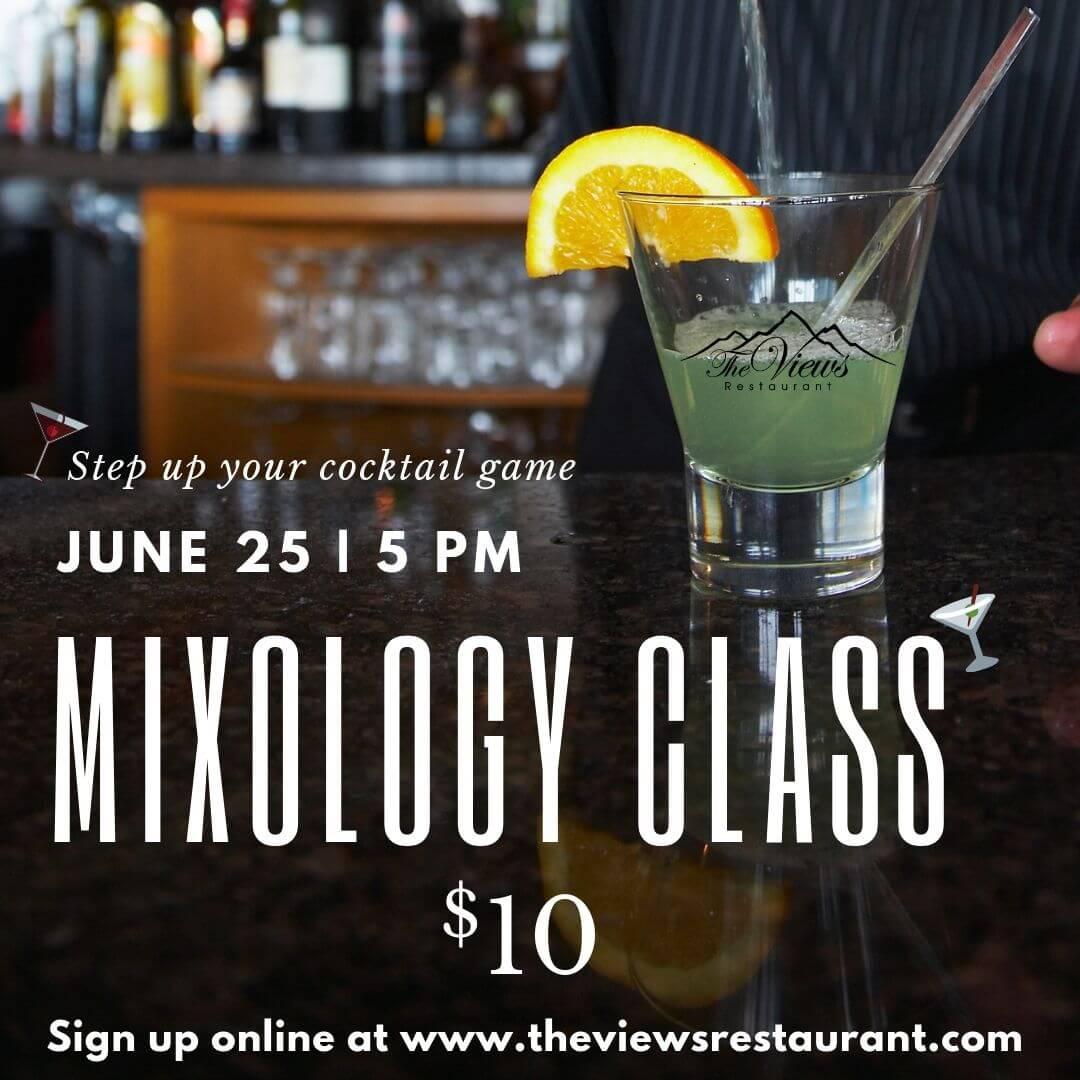 Mixology Class w/ Aalt – June 25