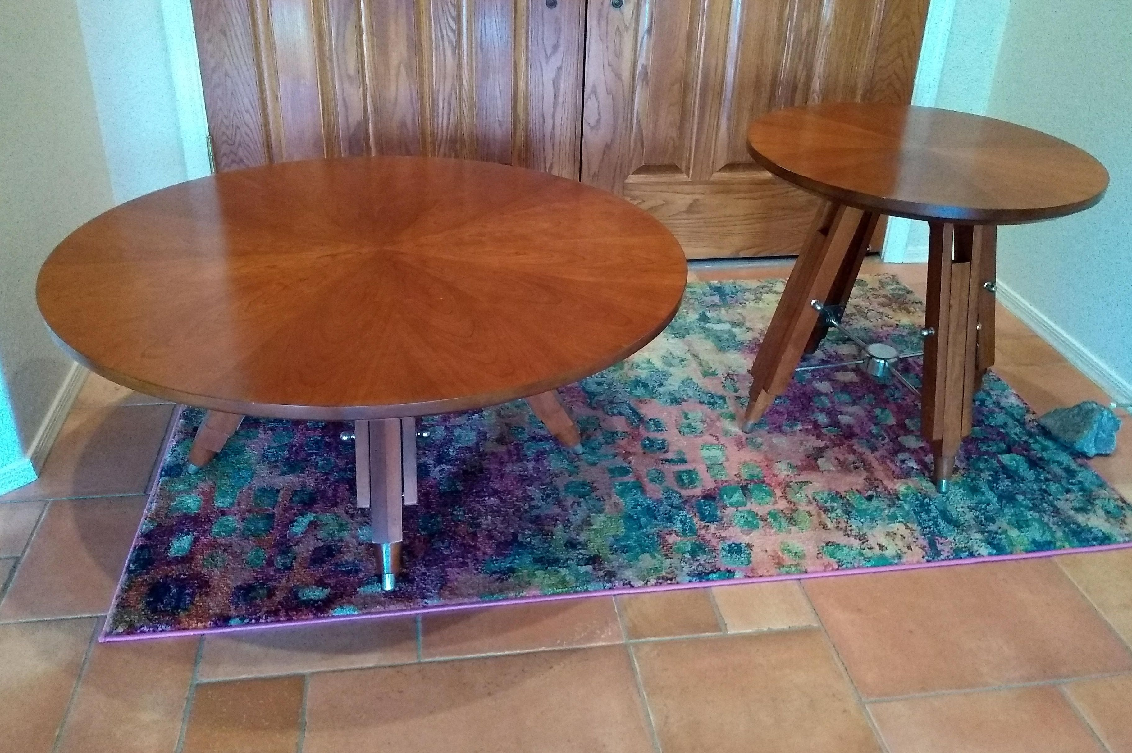 Beautiful cherry coffee and end tables