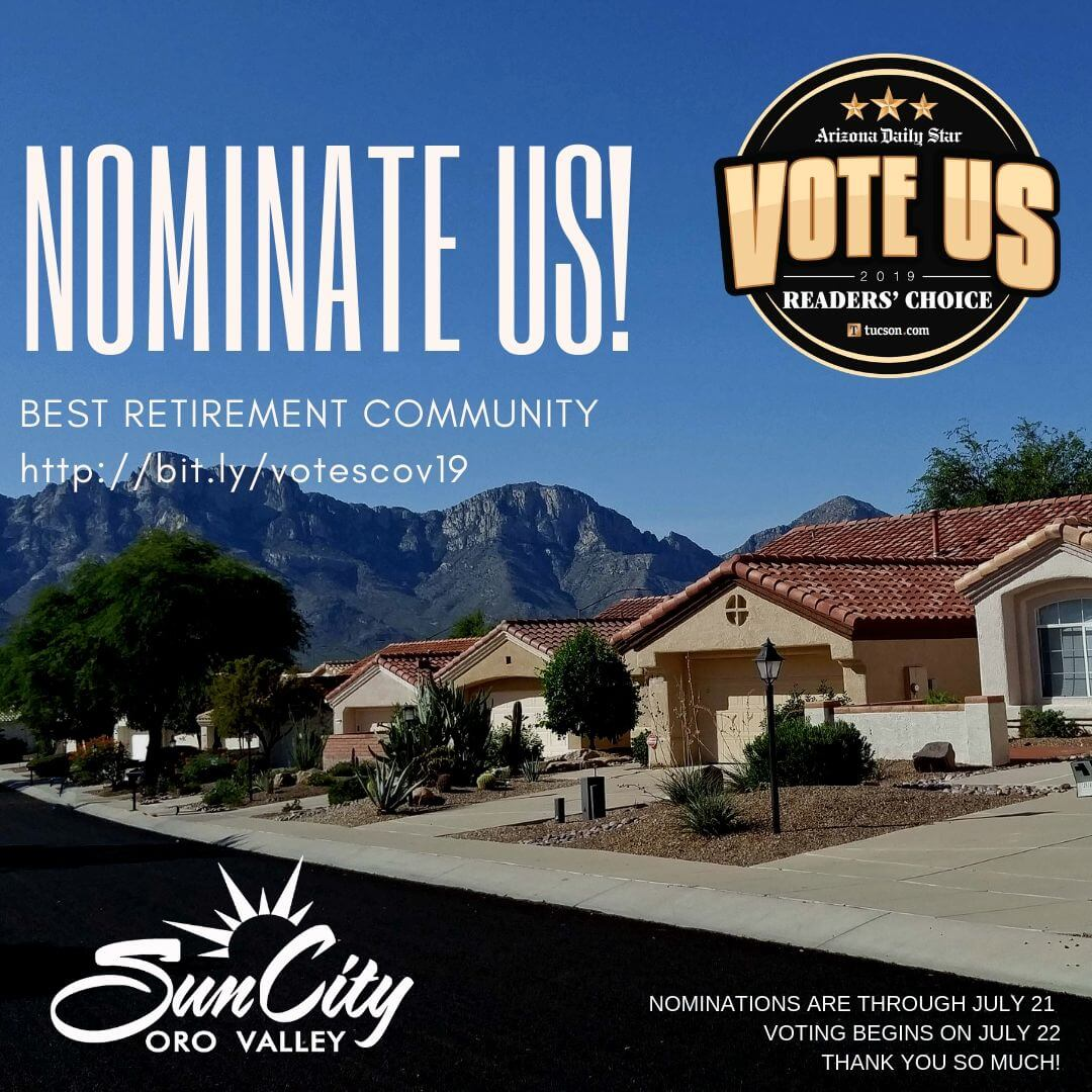 Nominate SCOV for Best Retirement Community!