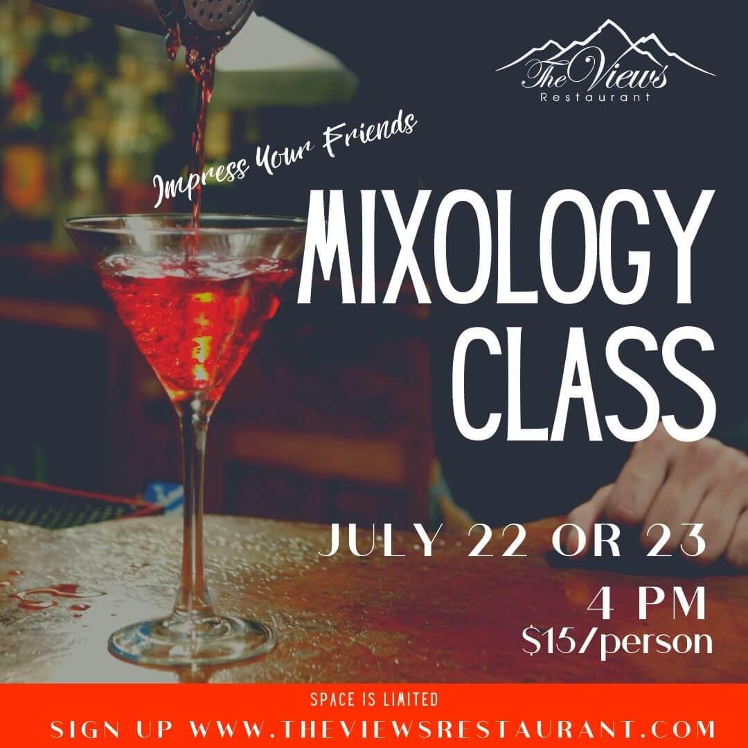 Mixology Class w/ Aalt – July 22 & 23