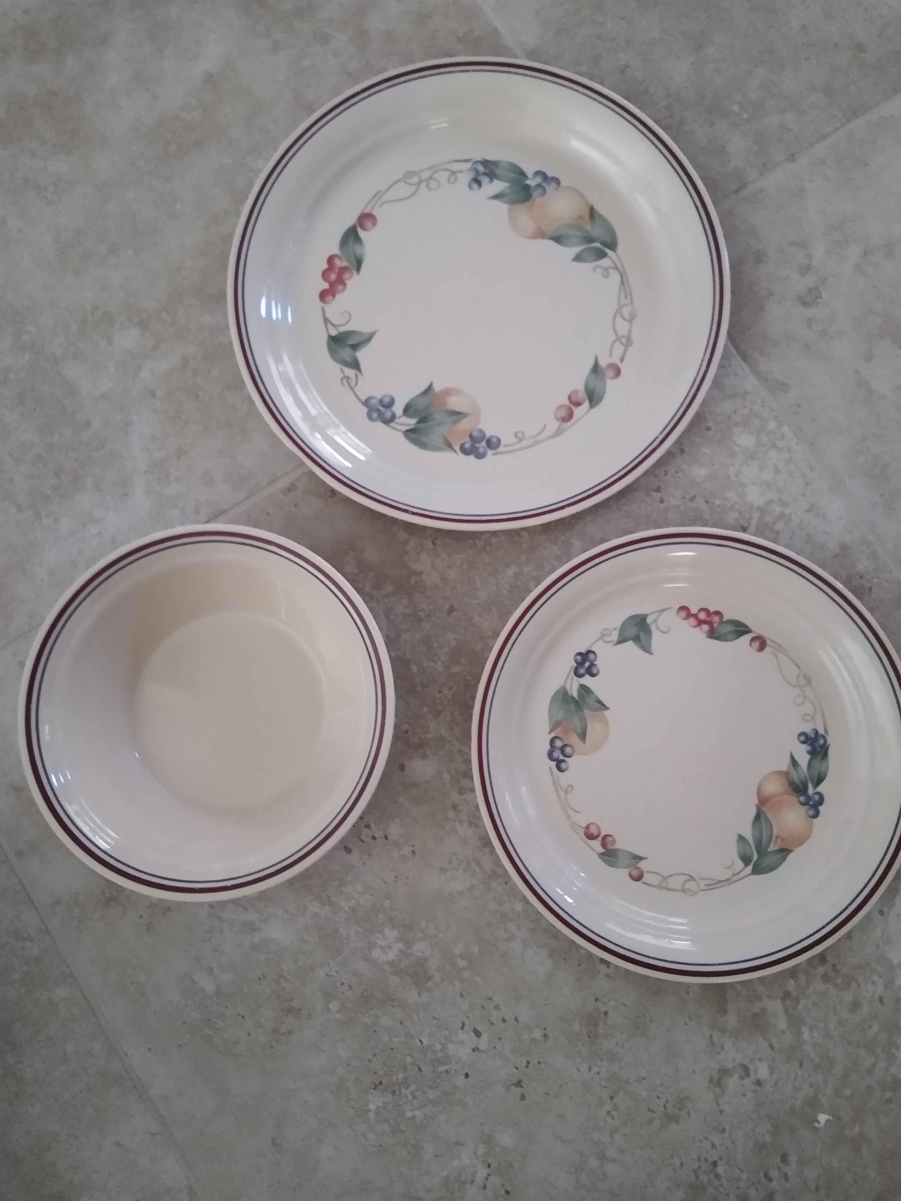 Corelle Dishes & Toaster