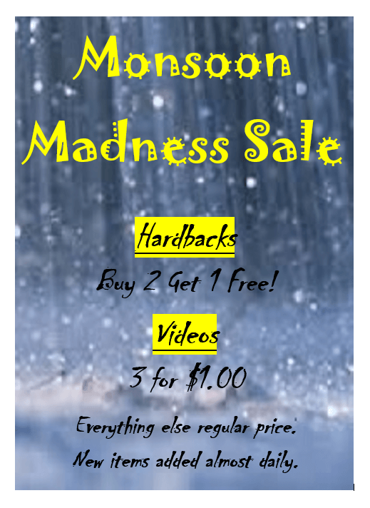 Monsoon Sale at Library