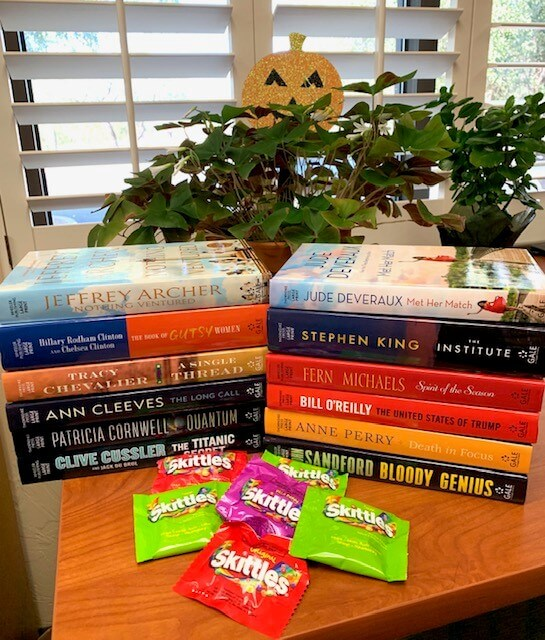 Treats (no tricks) at the Library
