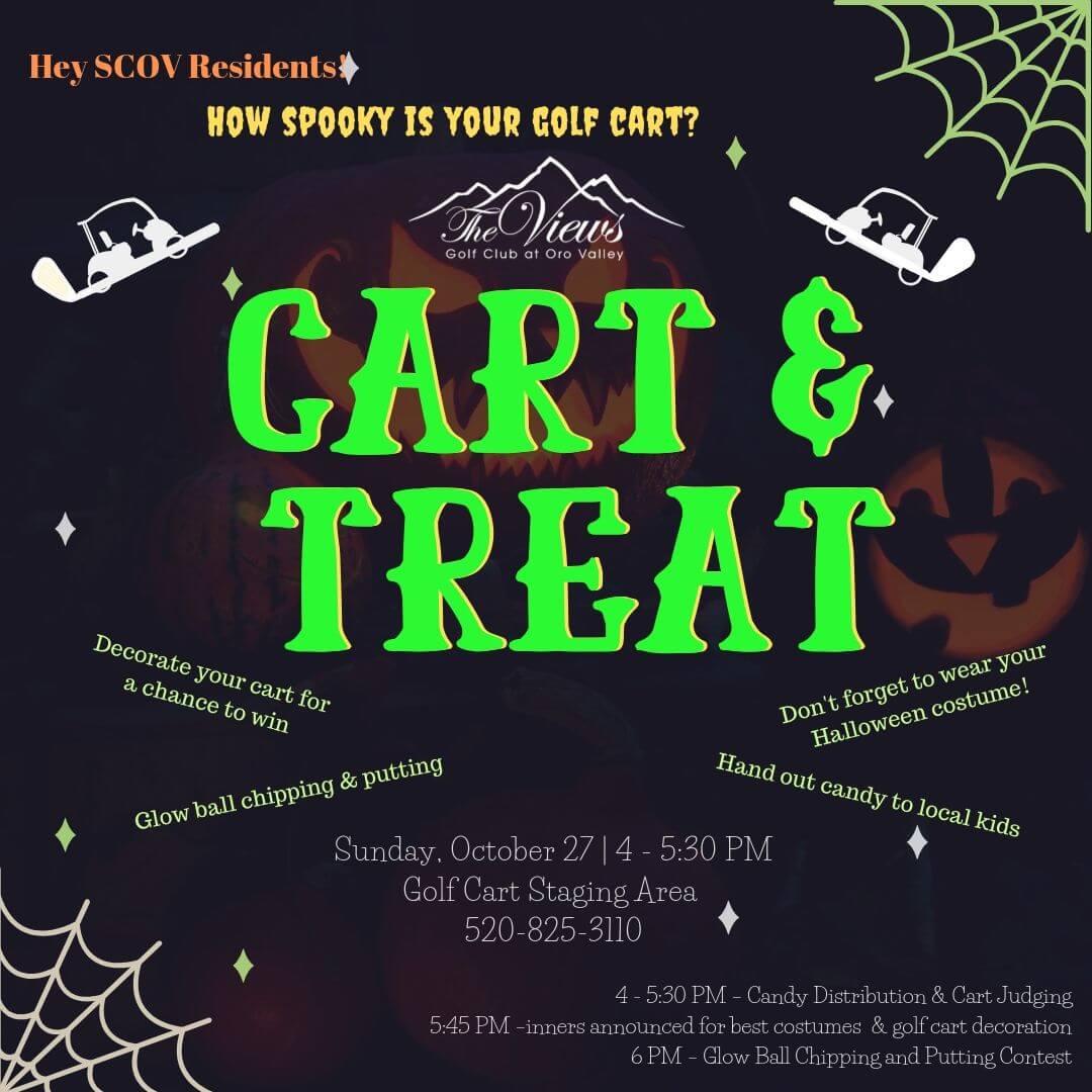 Cart & Treat 10/27