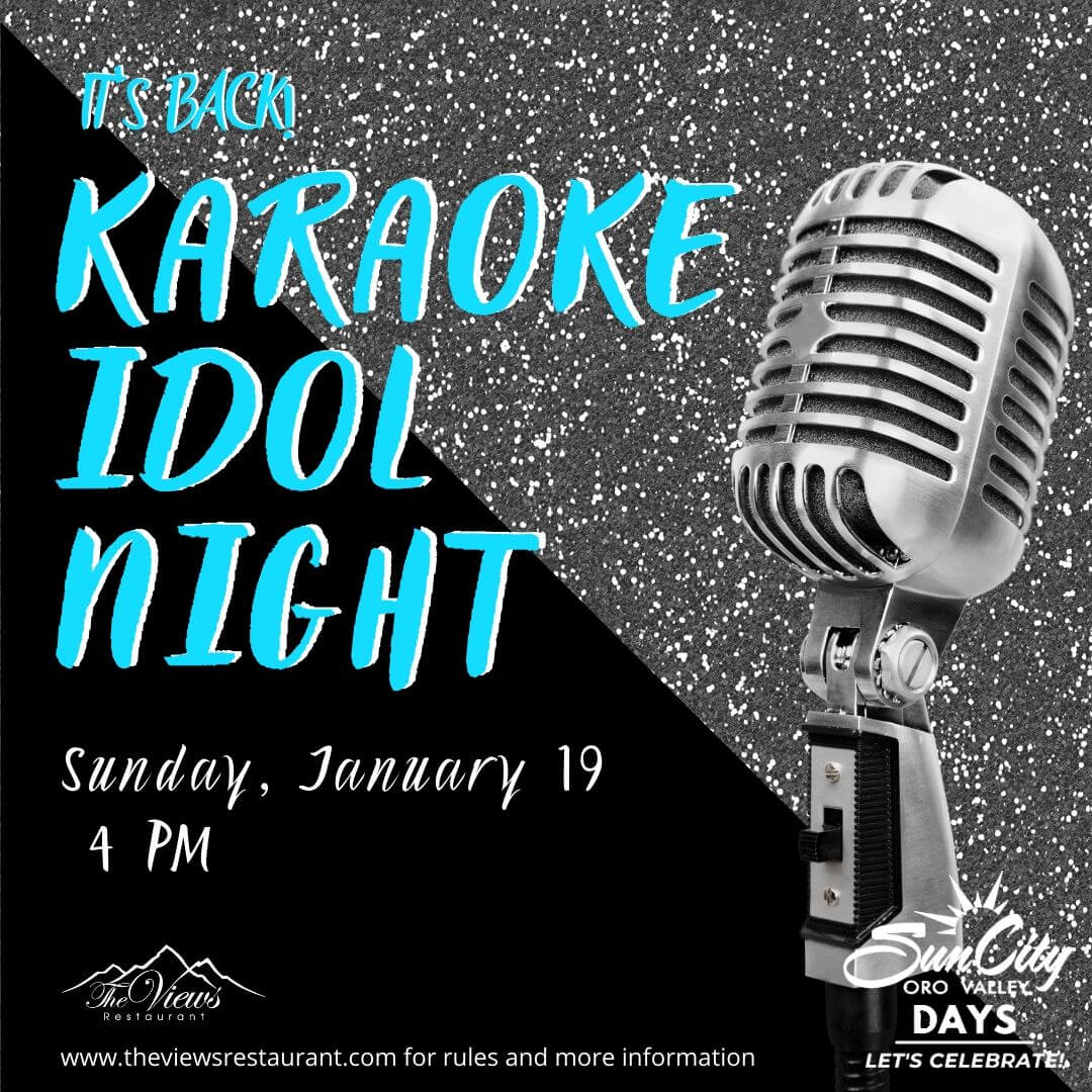 Karaoke Idol Night – 1/19/20