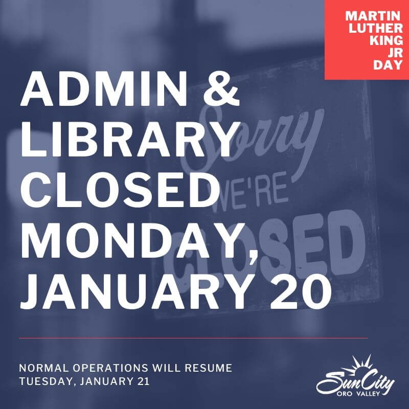 Offices Closed January 20