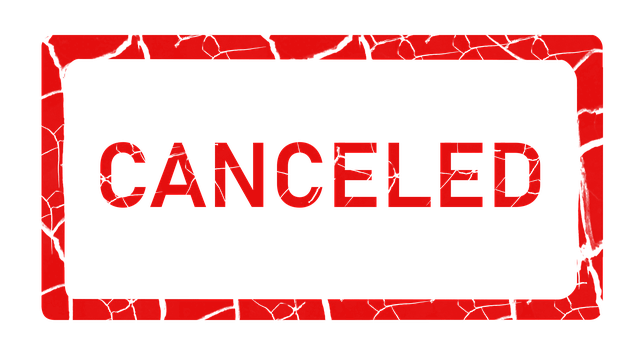 Closed & Cancelled Until Further Notice UPDATE