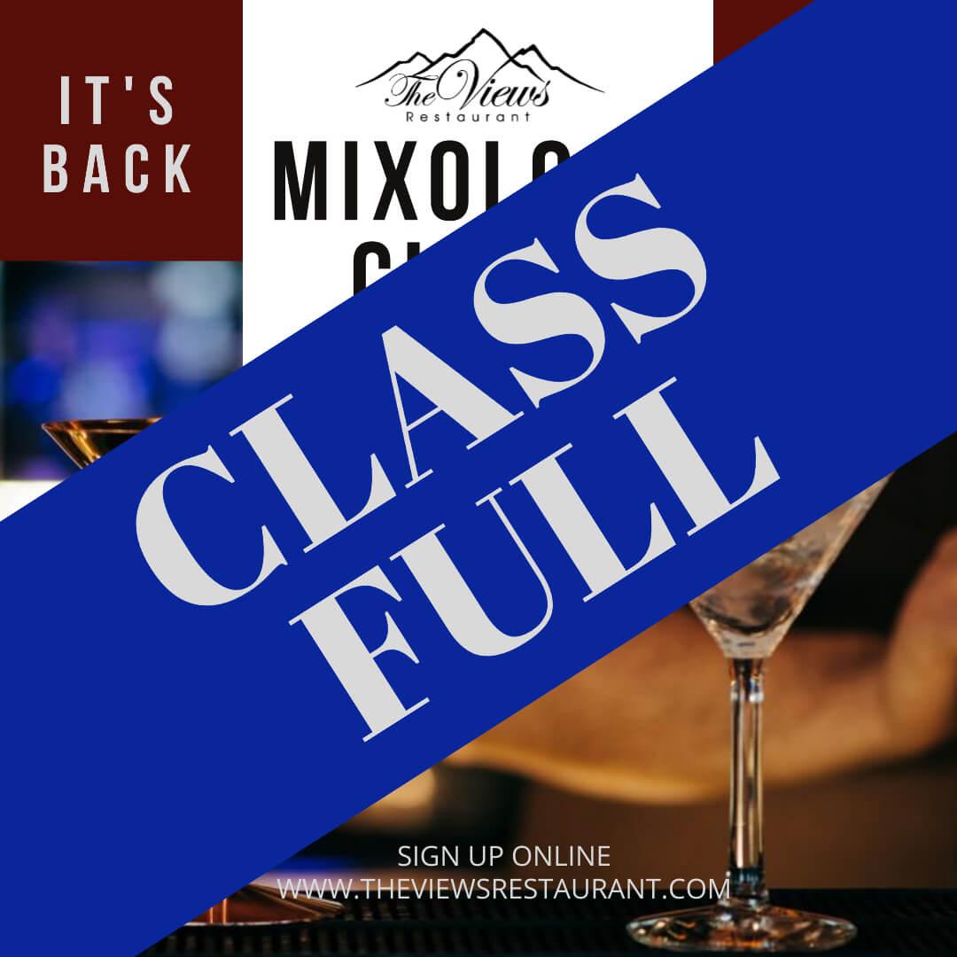 Mixology Class Sept 28