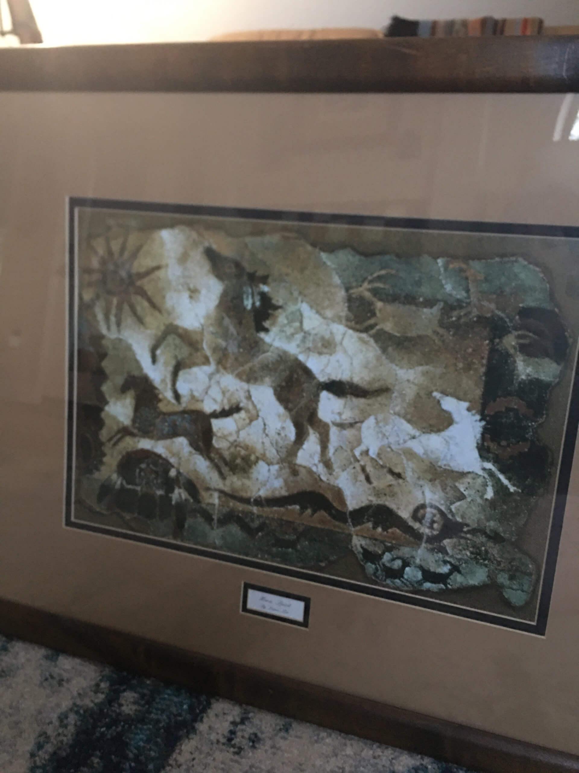 Southwest Framed Horse Print