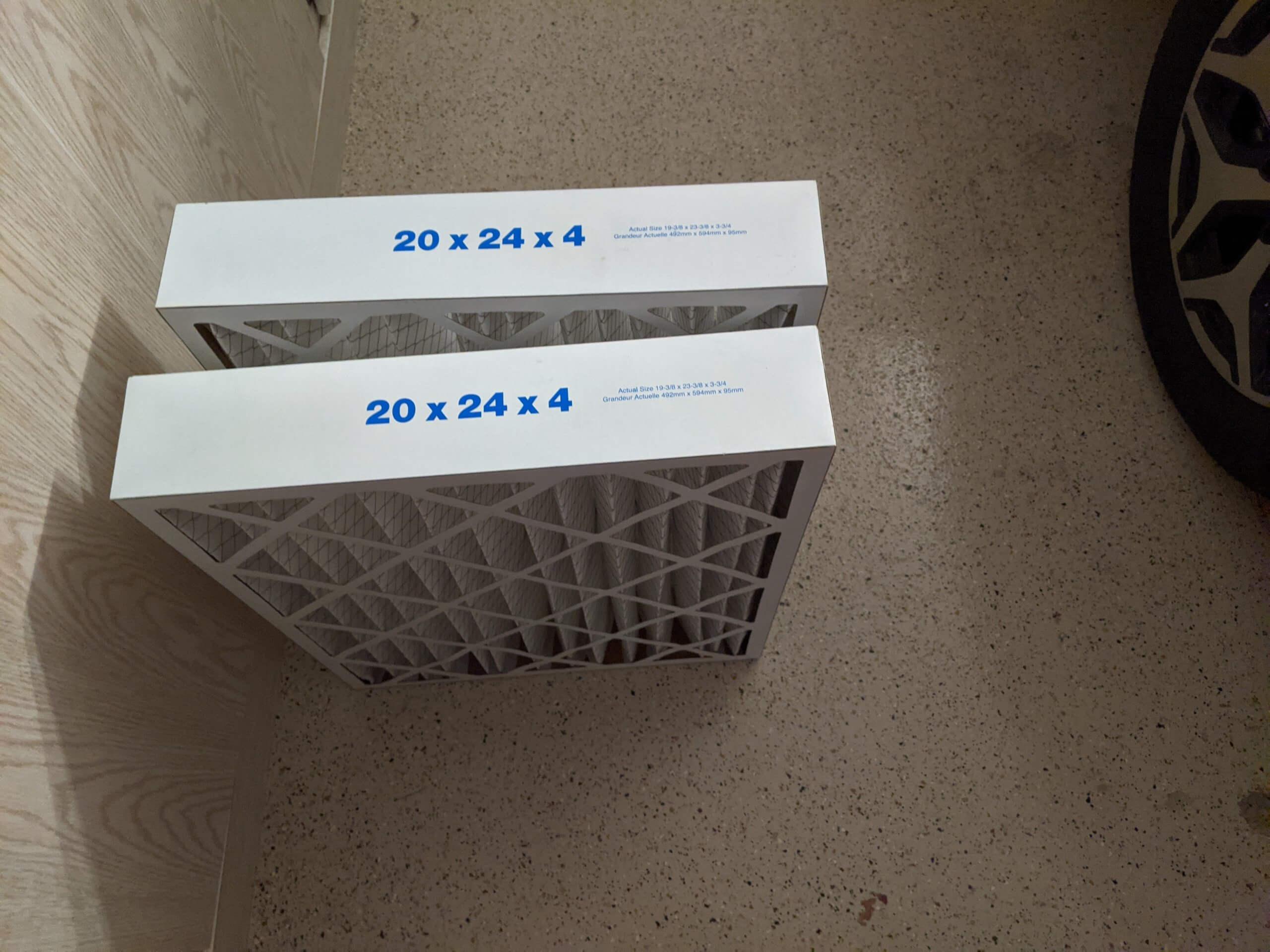 Furnace filters 20x20x4