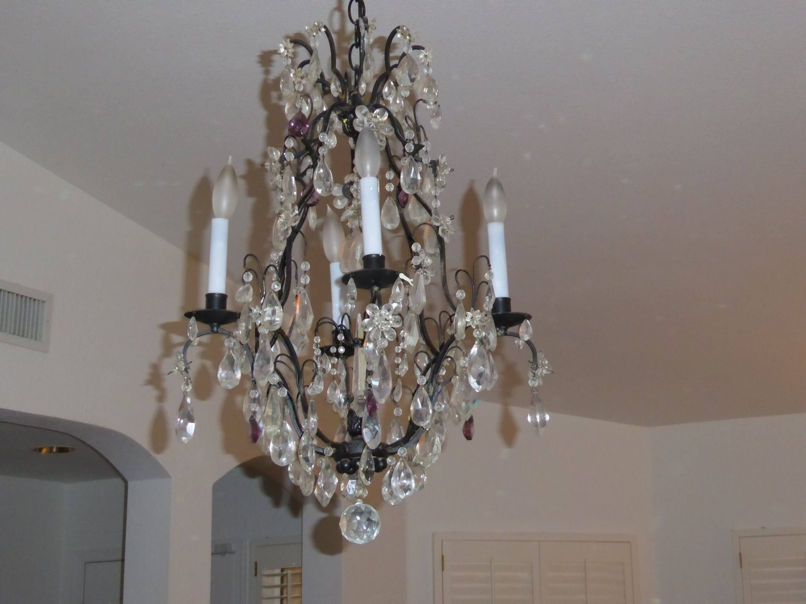 Charles Winston NYC – Crystal Chandelier