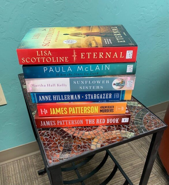 New top authors in large print