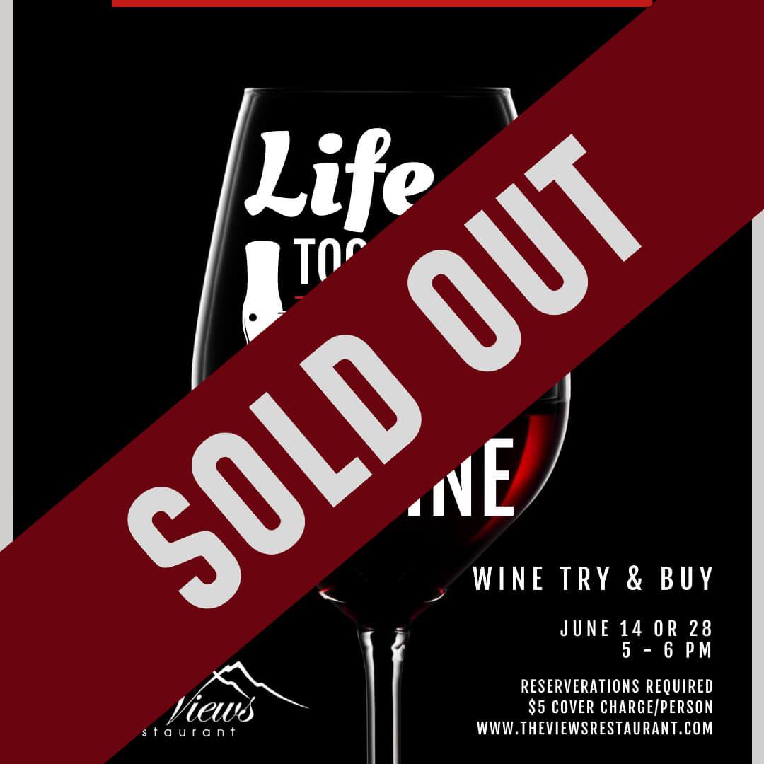 Wine Try & Buy – June Sign Ups