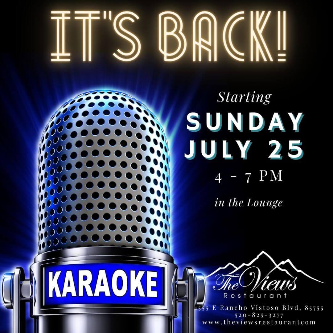 Karaoke is Back!