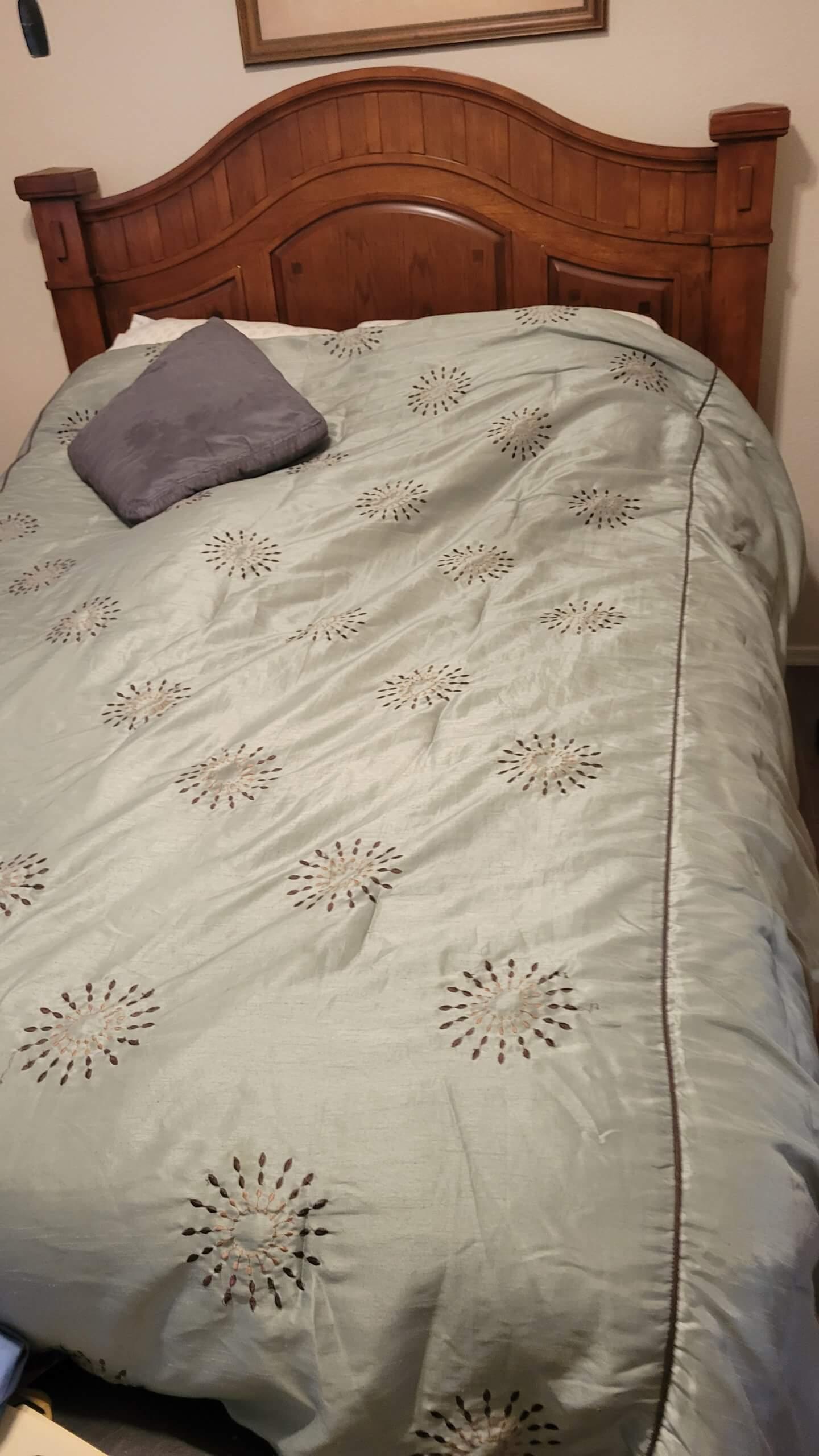 Sleep No.Queen Bed with Frame& Headboard