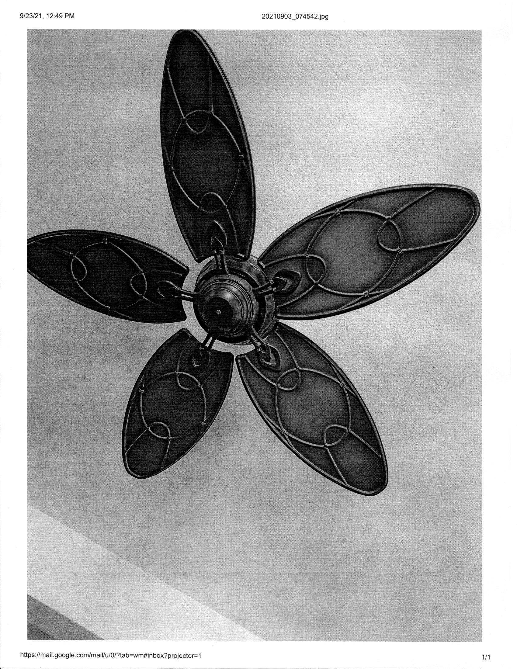 Hampton Bay 52″ ceiling fan