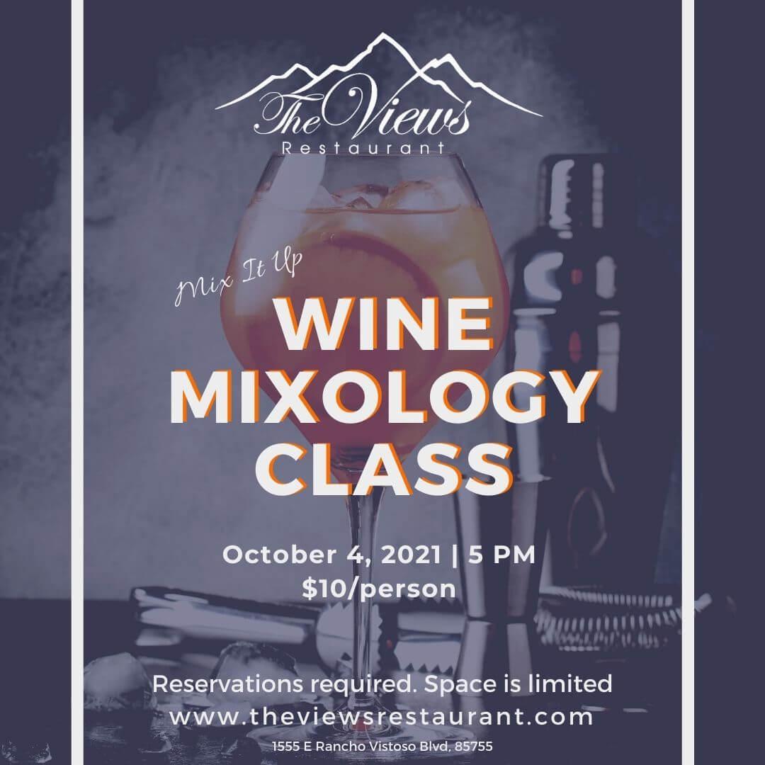 Wine Mixology Class – Mon, 10/04