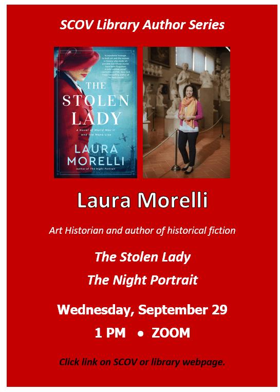 Art Historian & Author Laura Morelli 9/29/21