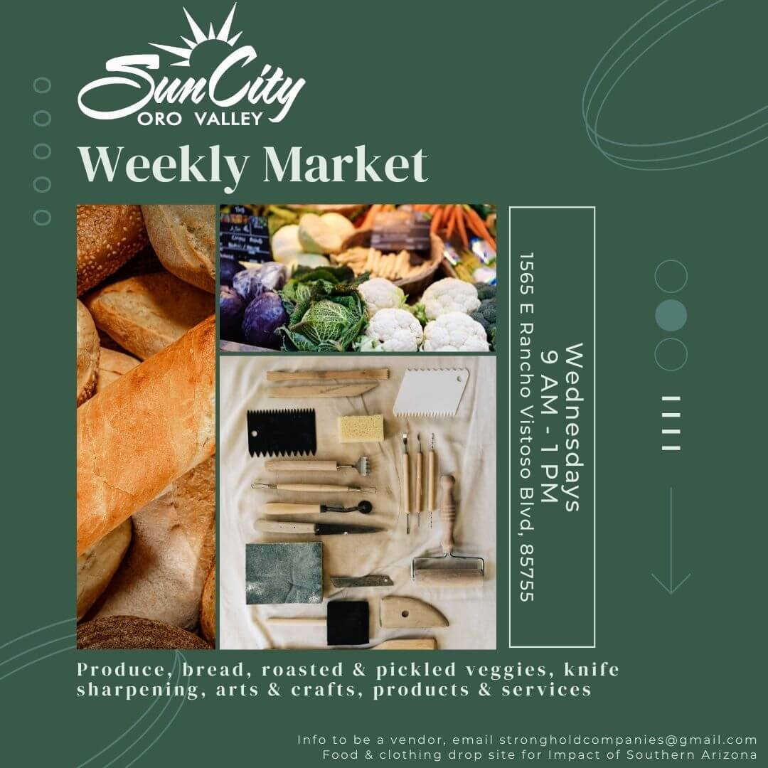 Wednesday Weekly Markets